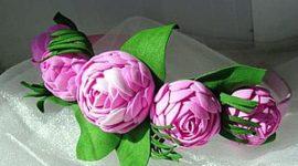 Цветы из фоамирана: понятные мастер-классы, схемы и шаблоны для начинающих