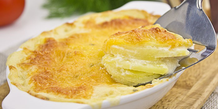 По-французски с чесноком и сыром
