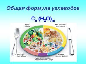 Общая формула углеводов