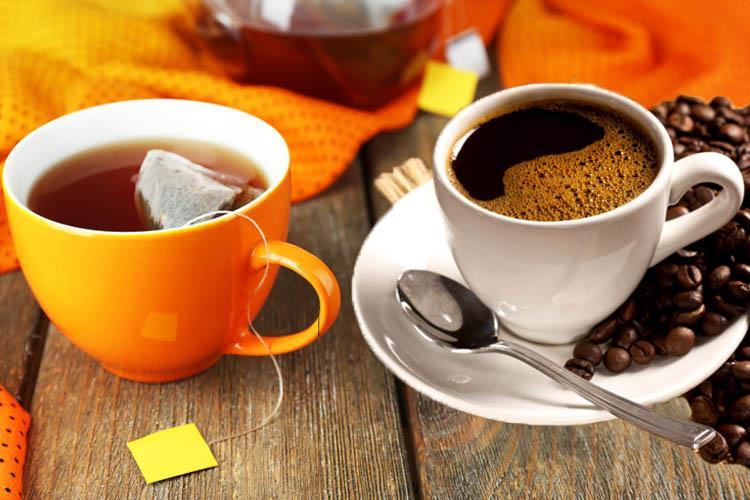 Употребление чая и кофе