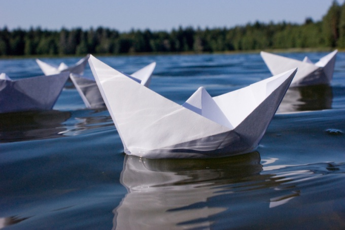 Пускать кораблик 4