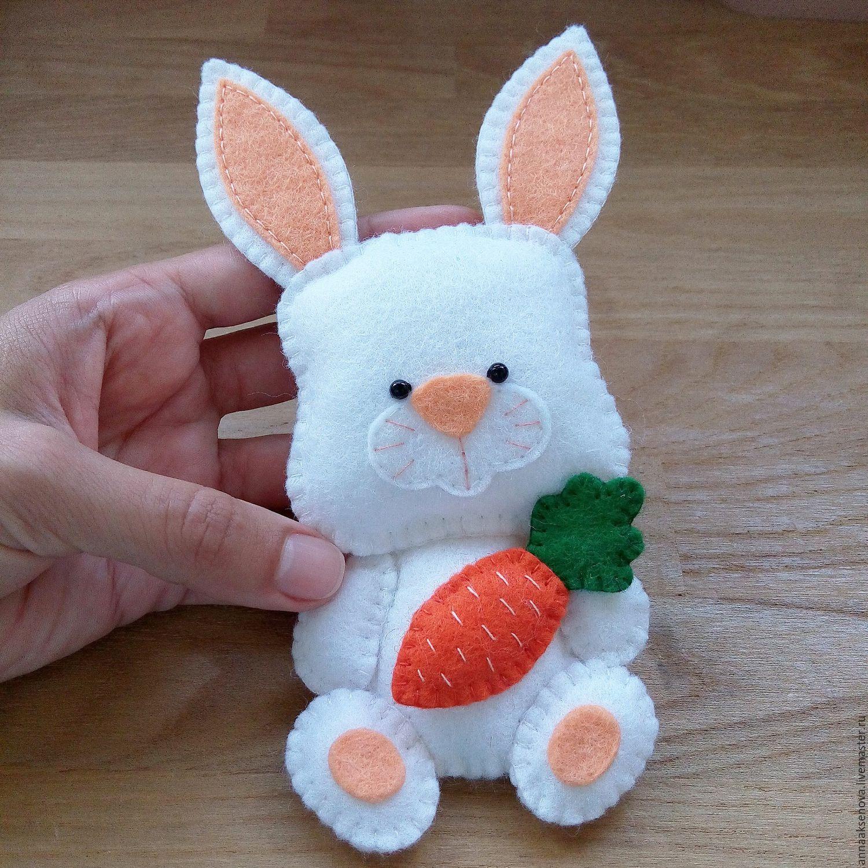 Заяц из фетра своими руками с выкройками фото 550