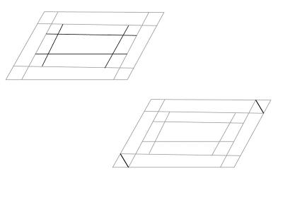 Прямоугольник второй этап рисования
