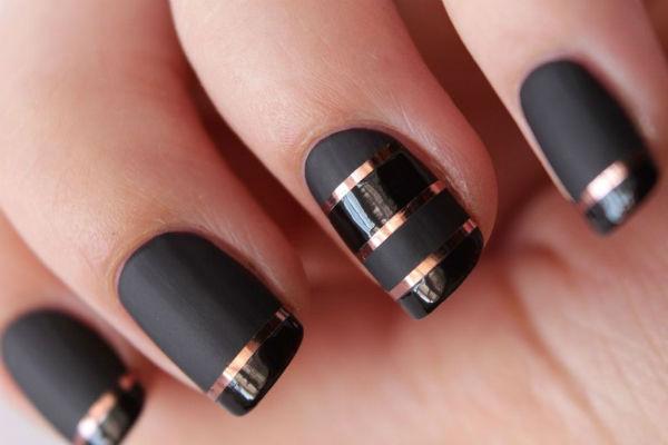 френч на ногтях