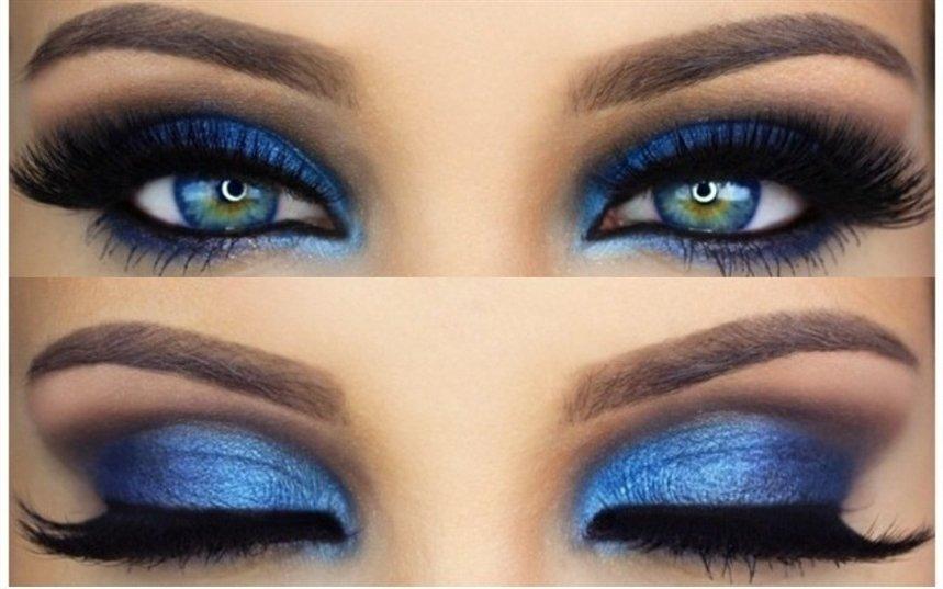 Для голубых глаз