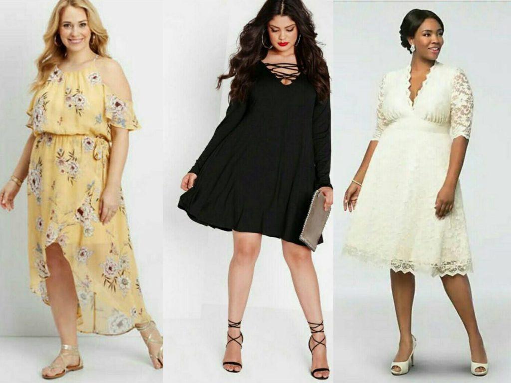 Варианты платьев