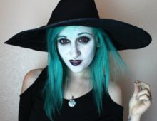 Макияж ведьмы для девушек