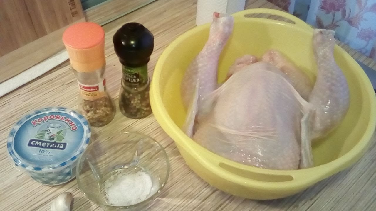 Ингредиенты для курицы с картошкой
