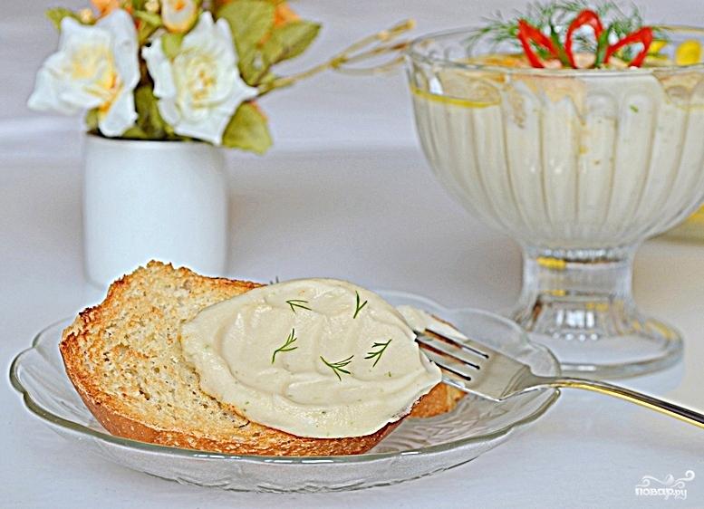 Хумус с фасолью