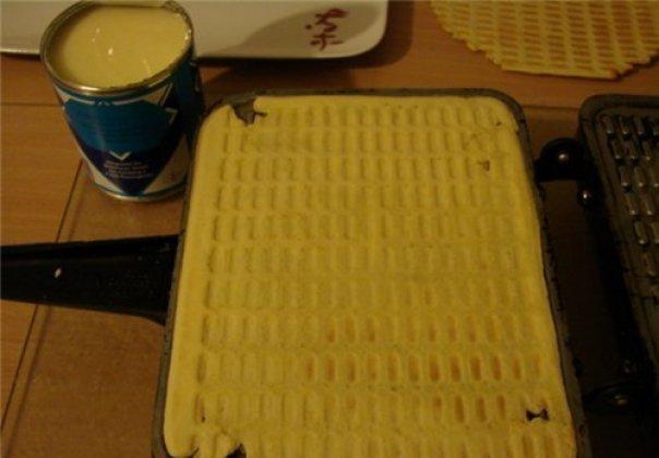 Приготовление вафельного торта