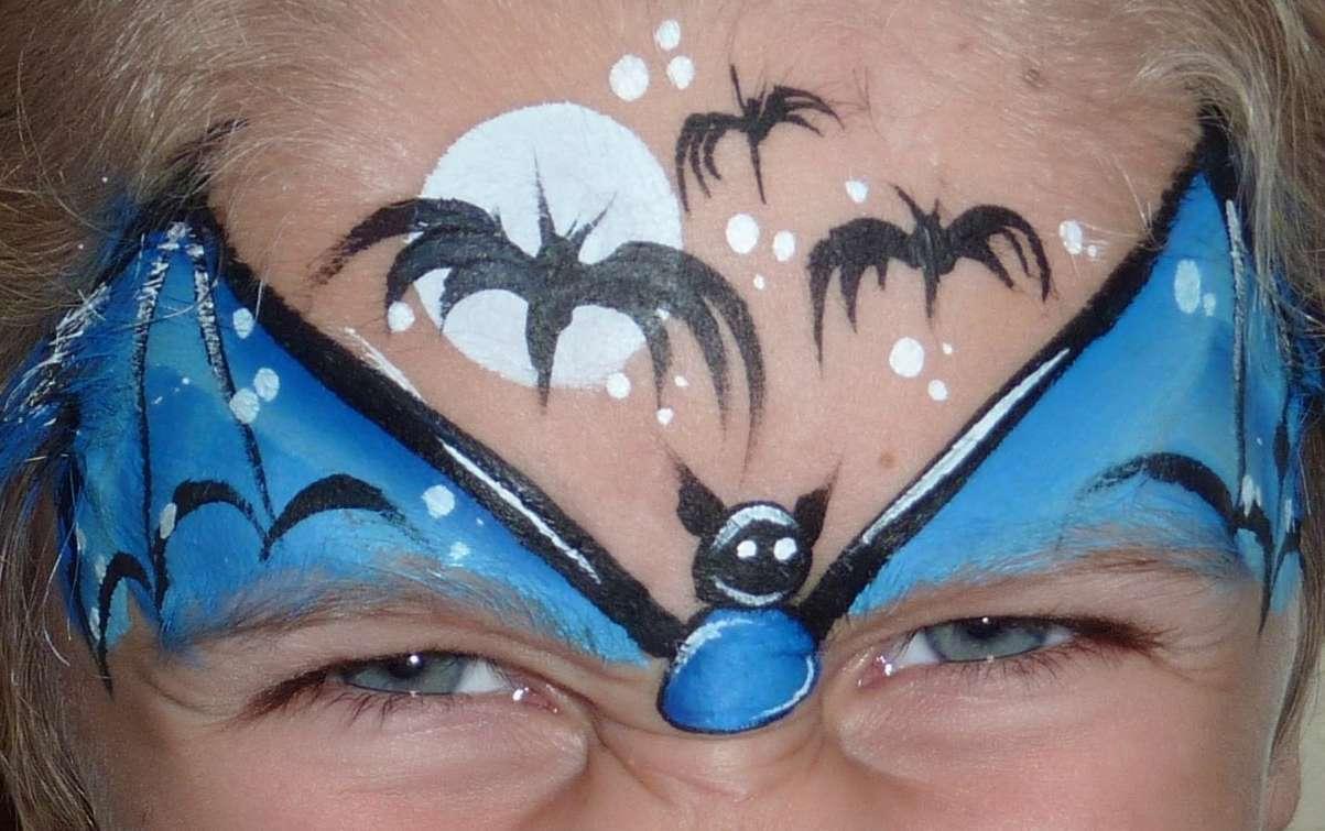 Детский аквагрим на лице