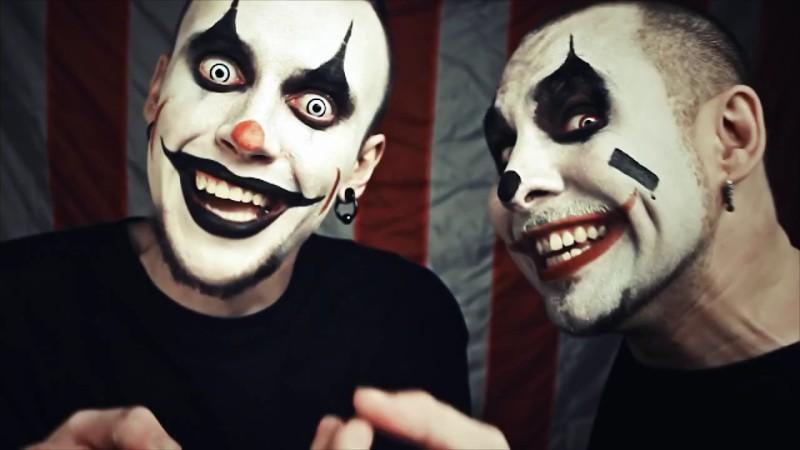 Грим клоуна для мужчин