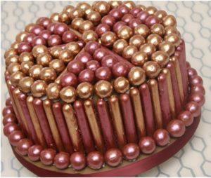 Украшение праздничного торта