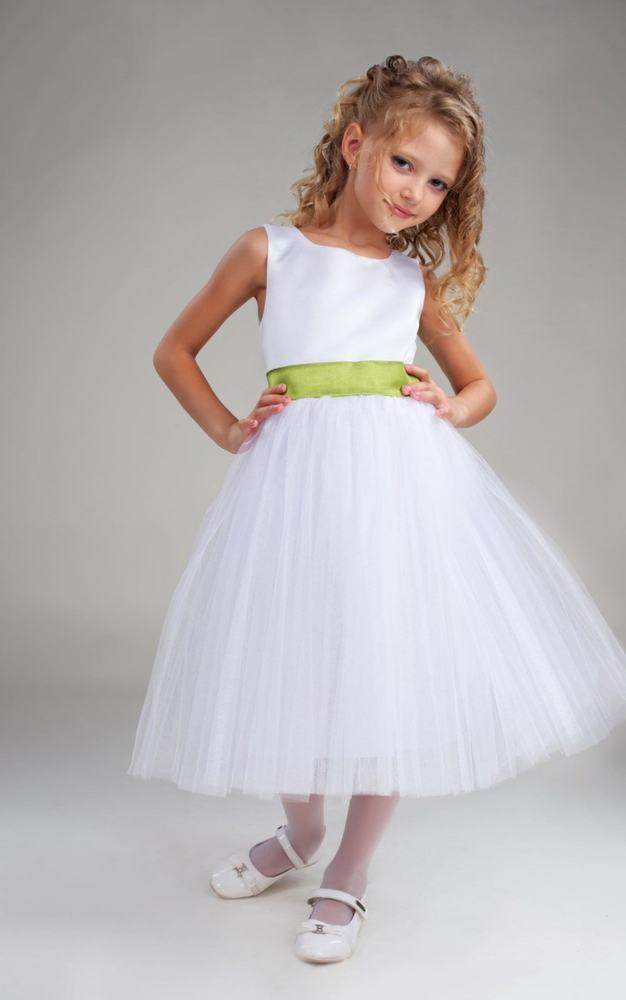 Для девочки белое платье