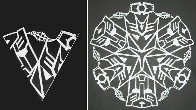 снежинка трансформер