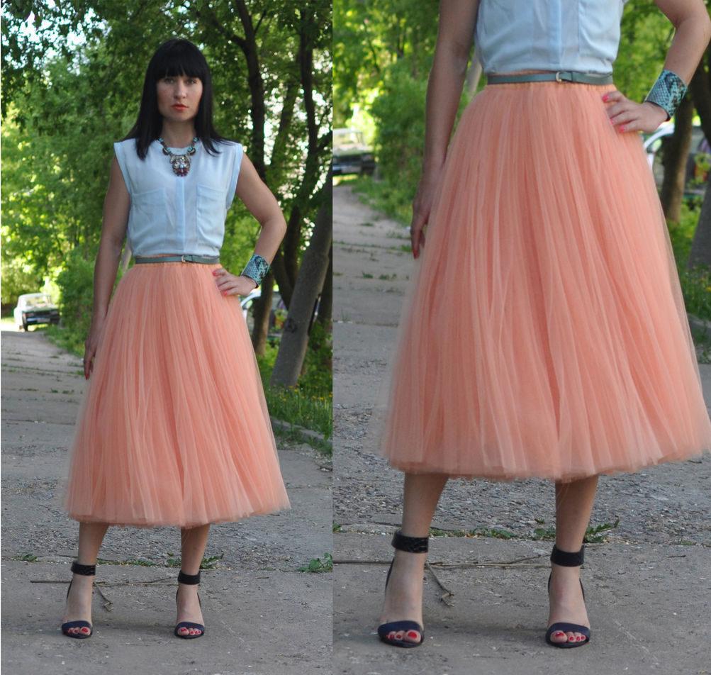 Пастельные тона юбки пачки