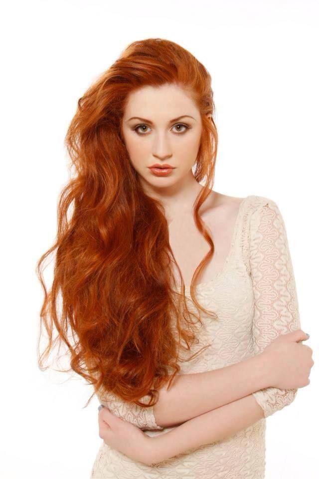 Светло-рыжий цвет волос