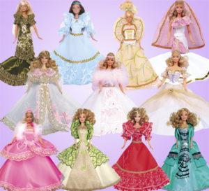 Куклы в платьях