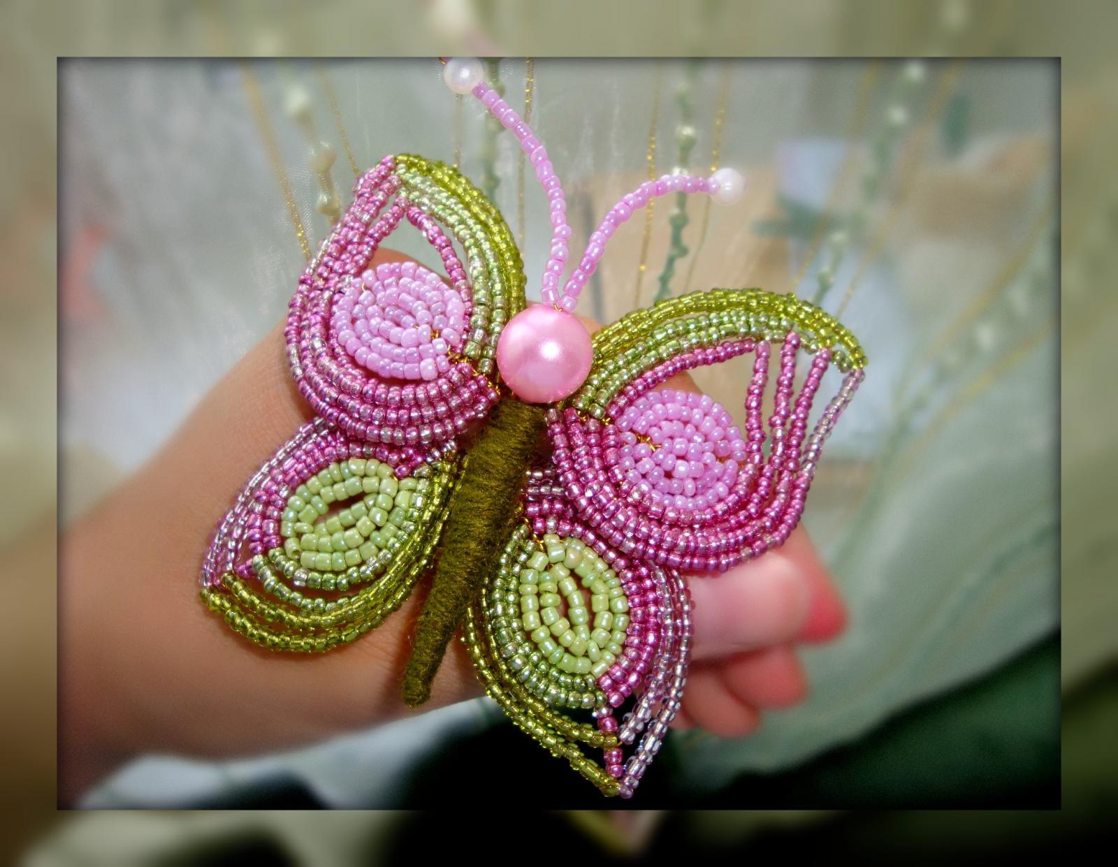 Французское плетение бисером