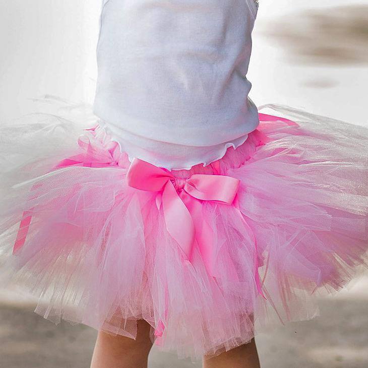 Детская пачка розовая