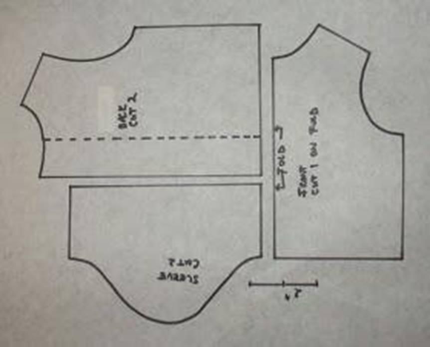 Выкройка для футболки