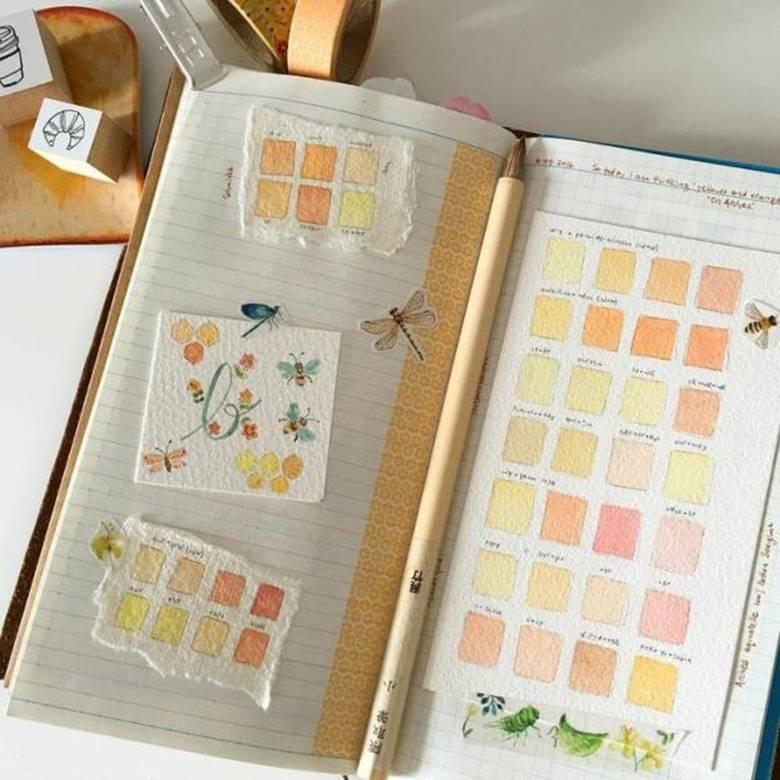 Дневник со вклейками