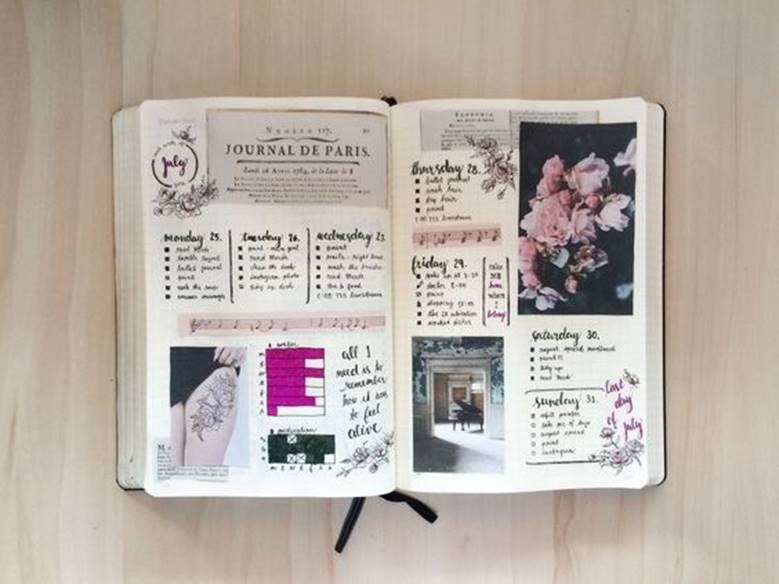 Ежедневник с картинками