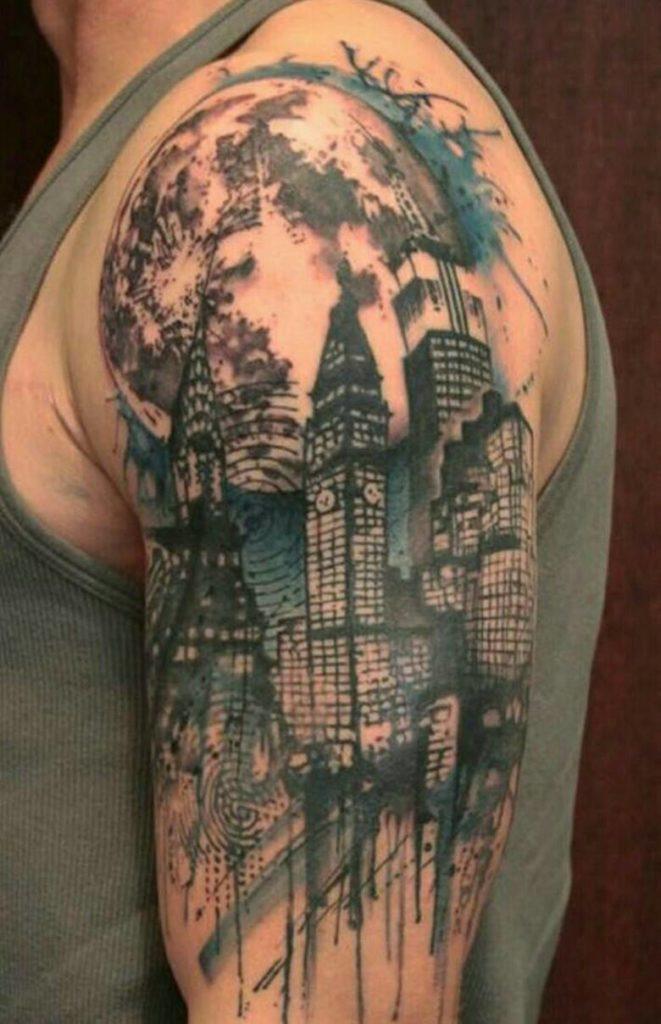 Картина - город
