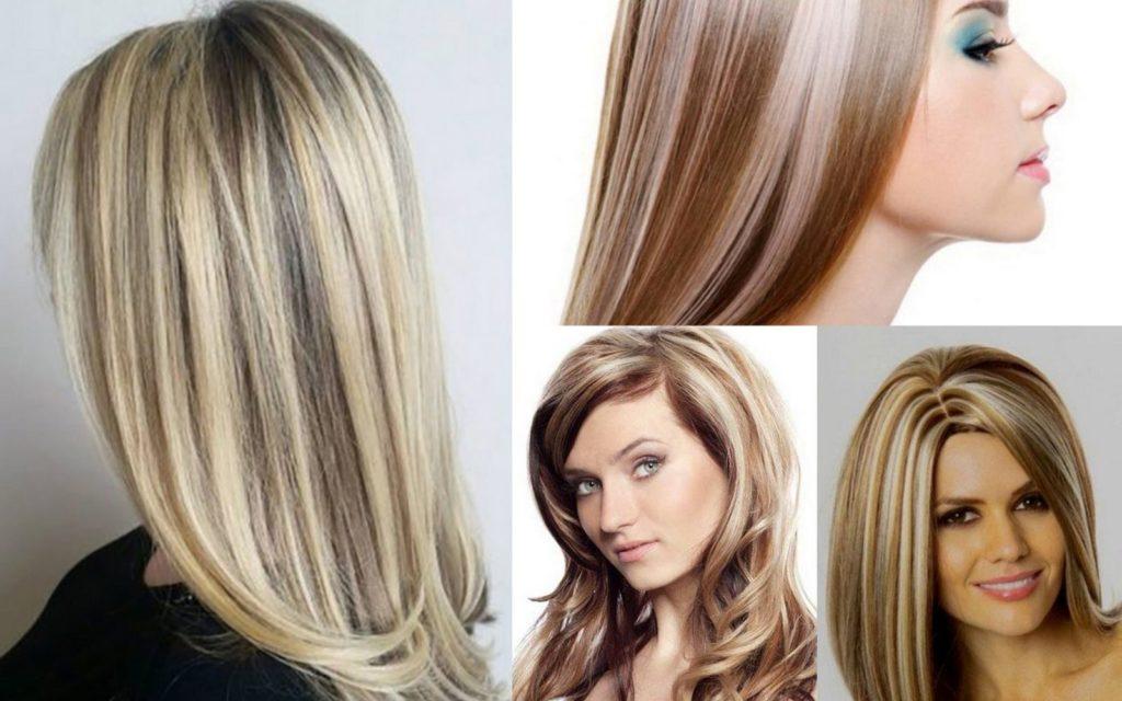 Классическое мелирование - по всей длине волос
