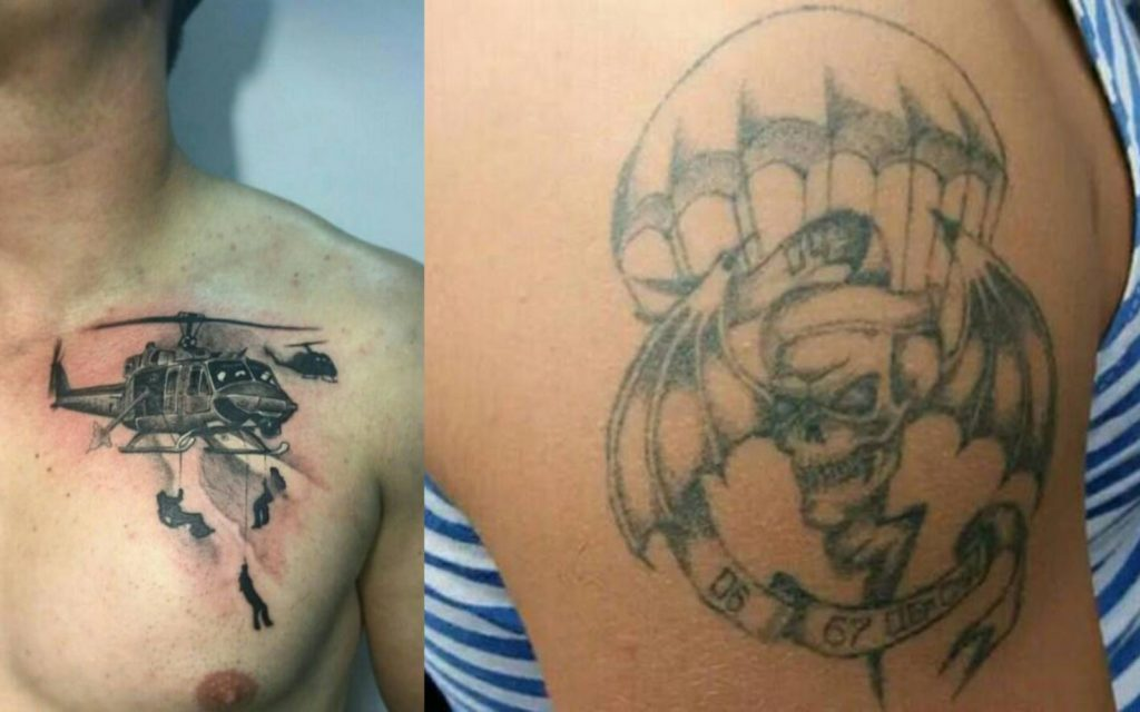 Татуировки ВДВ