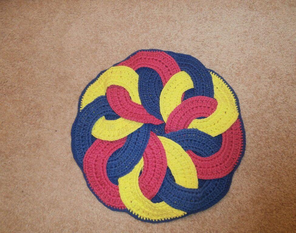 Японский круглый коврик