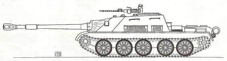 Т-62 с пулеметом