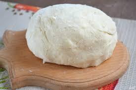 Нежное белое тесто