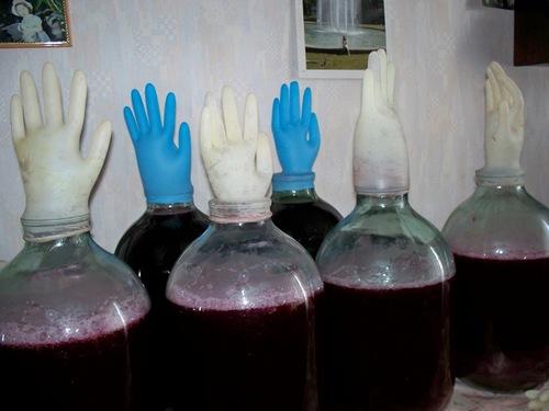 Заготовки с перчатками