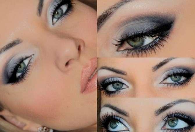 Примеры макияжа для темно-русого цвета