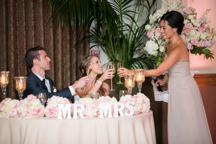 Трогательное поздравление на свадьбу