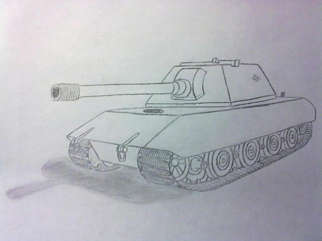 Танк Е-100