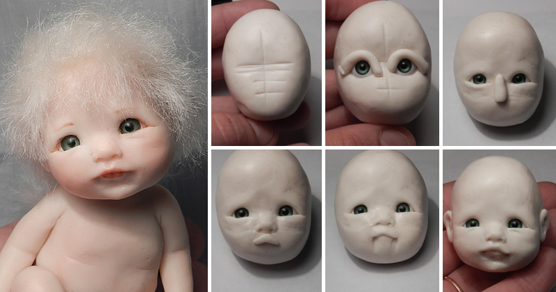 Создание лица куклы