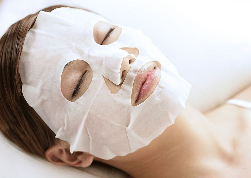 белая маска для зрелой кожи