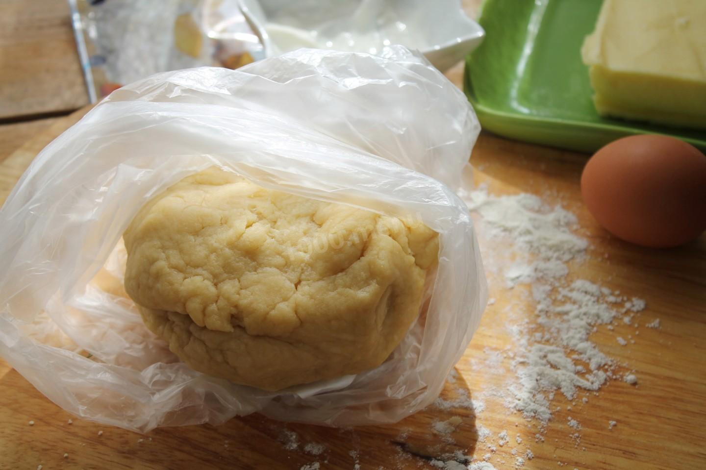 Песочное тесто в пакете