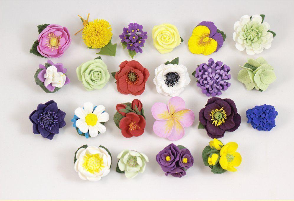 Много маленьких цветов