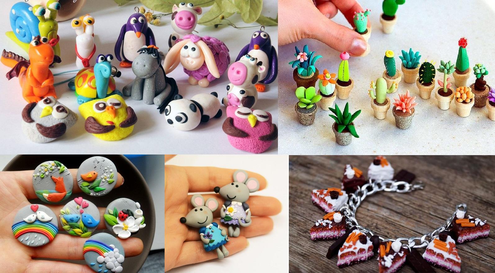 Множество мелких игрушек