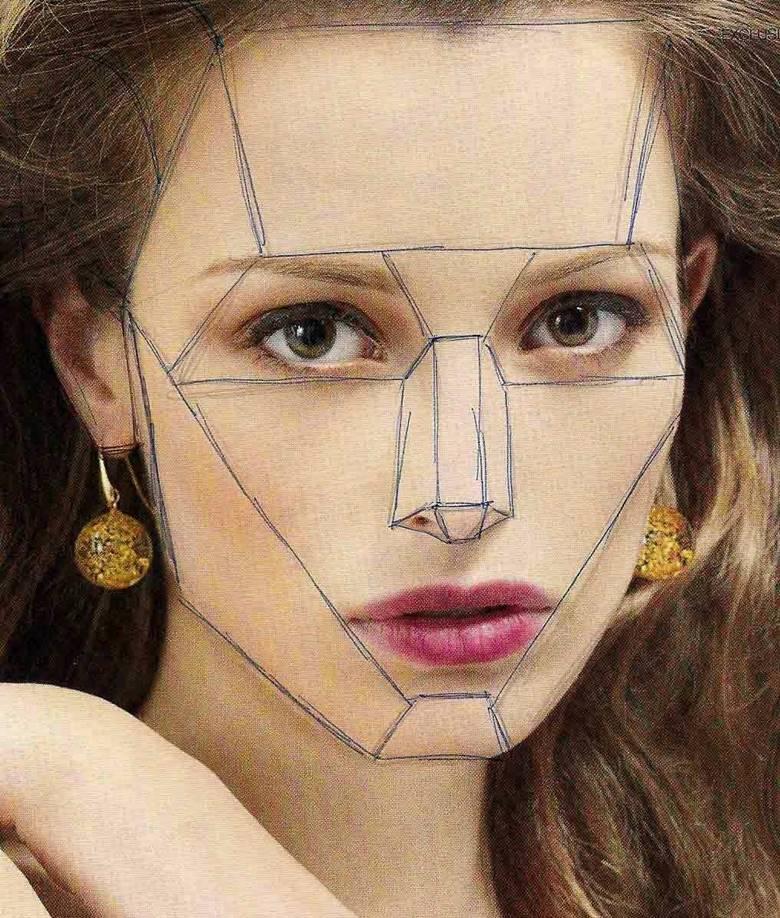 Плоскости на лице