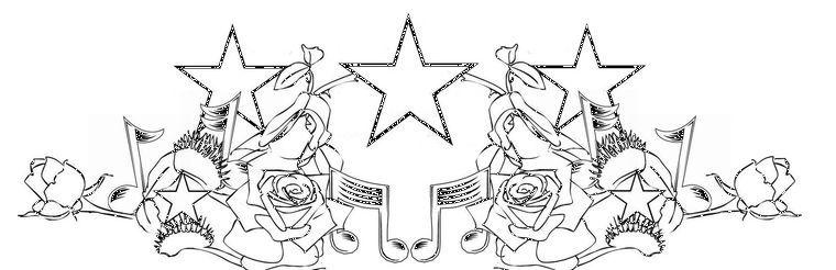 эскиз звезд