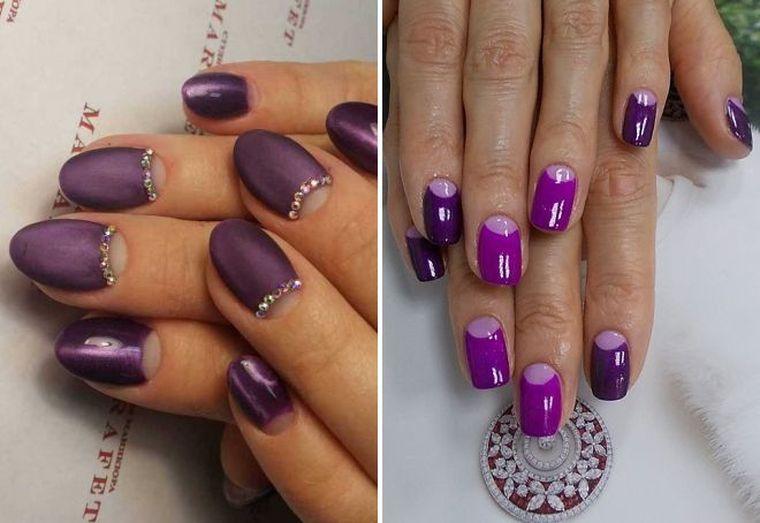 фиолетовый лунный