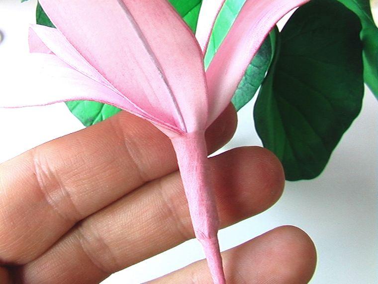 фиксируем розовой лентой