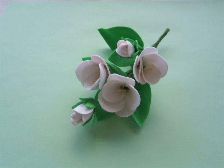 яблоневый цветок