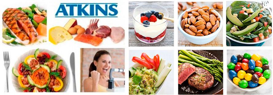 Разрешенные продукты на диете Аткинса