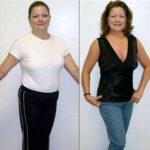 Фото до и после похудания на диете 7 лепестков