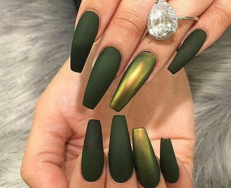 маникюр 2019 на длинные ногти